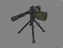 3D модель  MiniGun