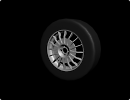 3D модель  OZ Rally Racing