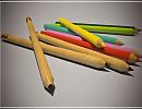 3D модель  pencil