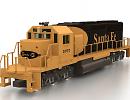 3D модель EMD SD40 локомотив