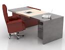 3D модель  офисный стол Poltronafrau
