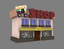 3D модель Quick Shop