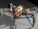 3D модель  Робот паук