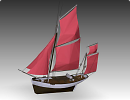 3D модель  SAILBOAT THONIE