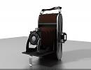 3D модель  Старый фотоаппарат