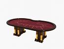 3D модель стол покерный