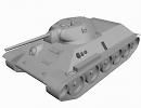 3D модель  T-34