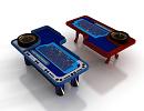 3D модель  стол казино