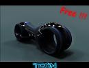 3D модель  Tron Bike