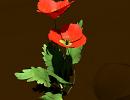 3D модель  Цветок