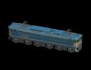 3D модель  вагон
