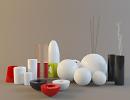 3D модель  вазочки