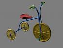 3D модель Велосипед