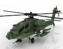 3D модель Вертолет AH-64 Apache