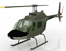 3D модель Вертолет A Bell JetRanger