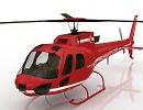 3D модель Вертолет Ecureuil