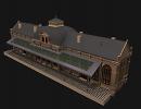 3D модель  Вокзал