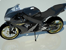 3D модель Yamaha YZF-R1 2008