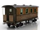 3D модель Ж/Д вагон 2
