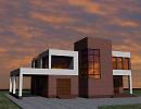 3D модель  жилой дом