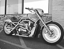 3D модель Мотоцикл Harley V Rod