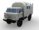 3D модель ГаЗ 66