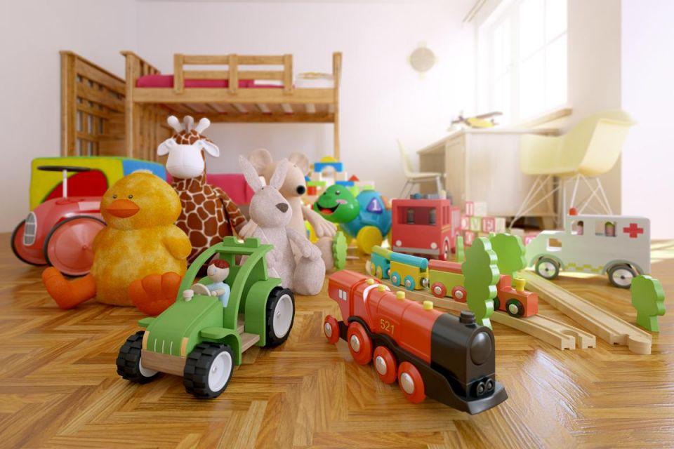 Игрушки детского сада